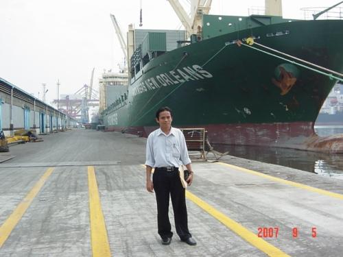 Pelabuhan Tangguh Samudera jaya