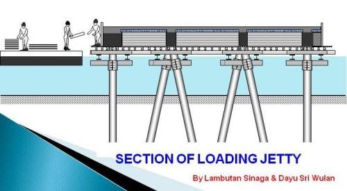 Section of Loading Jetty